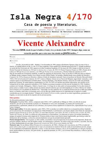 Vicente Pío Marcelino Cirilo Aleixandre y Merlo (Sevilla ... - Il Dialogo
