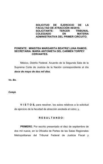 MARGARITA BEATRIZ LUNA RAMOS - SCJN