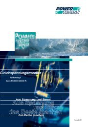 Teilkatalog3 Serie PC 5000 - 30000W - Powertronic.de