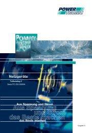 Teilkatalog2 Serie PC 250 - 5000W - Powertronic.de