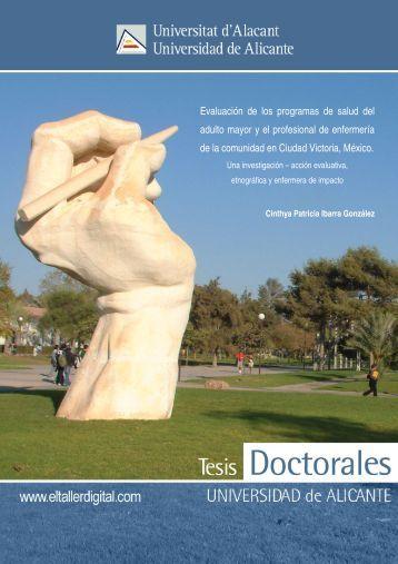 Tesis_Ibarra Gonzalez.pdf - RUA - Universidad de Alicante