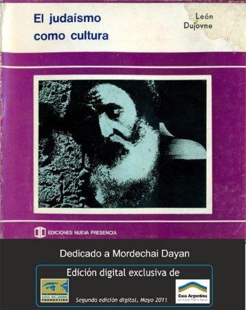 El Judaismo como Cultura - Casa-argentina