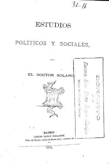 Estudios políticos y sociales - Universidad de Sevilla