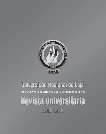 la acreditación institucional - Universidad Nacional de Loja