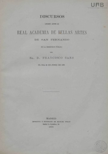 REAL ACADEMIA DE BELLAS ARTES