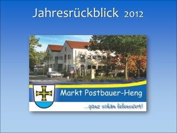 Folie 1 - Postbauer-Heng