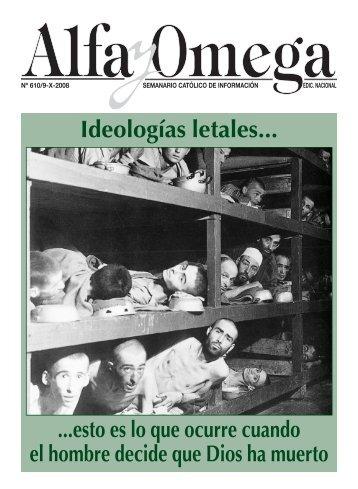 Ideologías letales... - Alfa y Omega