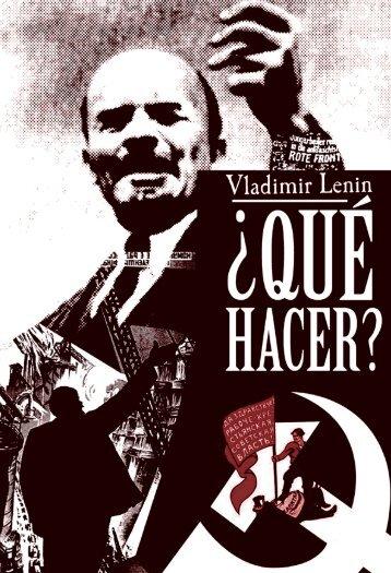 """Qué Hacer?"""", de Lenin"""