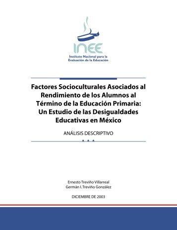 Factores Socioculturales Asociados al Rendimiento de los ... - OEI