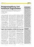 «Die Post» - Personalzeitung - Die Schweizerische Post - Seite 5