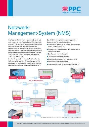 Netzwerk- Management-System (NMS) - Power Plus ...