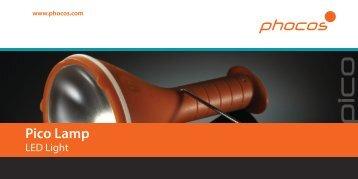 Flyer Pico Lamp - Phocos.com