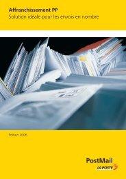 Affranchissement PP 203.09 - La Poste Suisse