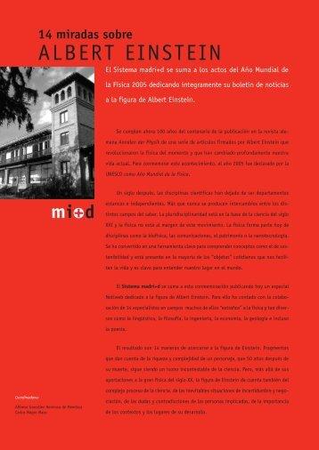14 miradas sobre albert einstein.pdf - Madri+d