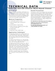 ALK-600 Water-Based Cleaner - PPG Industries