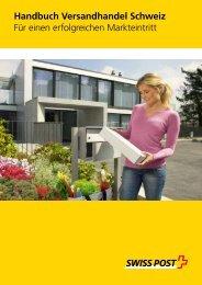 Handbuch Versandhandel Schweiz - Die Schweizerische Post