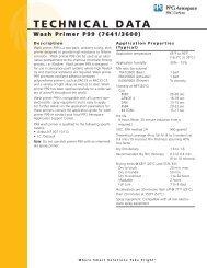 Wash Primer P99 - PPG Industries