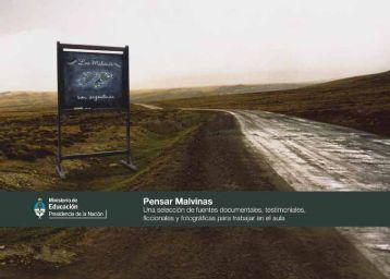 """Descargar el libro """"Pensar Malvinas"""" - Educ.ar"""