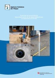 """""""Protocol d'actuacions de descontaminació de les aigües ..."""