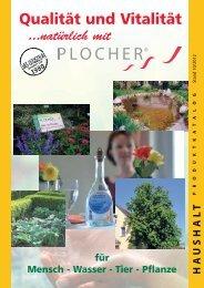 mensch / w asser / tiere / pflanzen - Roland Plocher Energiesystem
