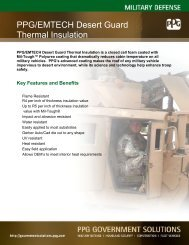PPGEMTECHDesertGuardInsulation - PPG Industries