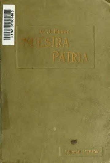 Nuestra patria : libro de lectura para la educación nacional