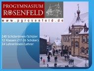 Folie 1 - Progymnasium Rosenfeld