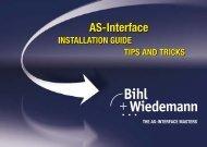 AS-i Installation Guide - Bihl+Wiedemann GmbH