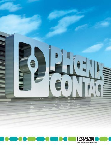 Download Company Brochure Phoenix Contact (PDF 3,30 MB)