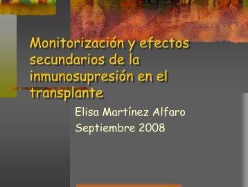 Fármacos inmunosupresores en trasplantes