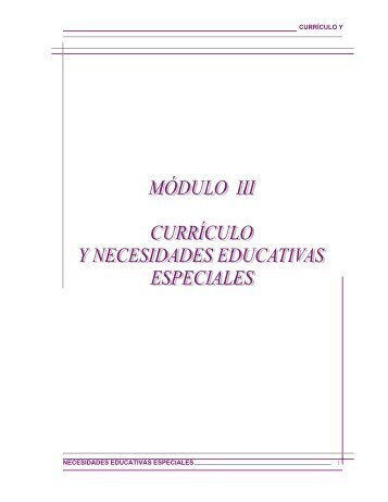 Módulo 3 - Portal Educativo Nicaragua Educa