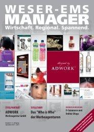 TITELPORTRÄT ADWORK Werbeagentur GmbH TITELSTORY Das
