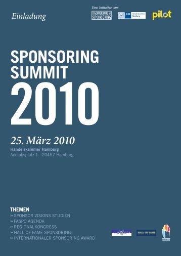 sponsoring summit 2010 - Portal Kunstgeschichte