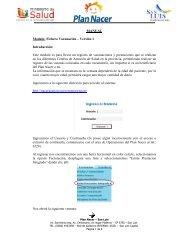 Instructivo Fichero Vacunación (Plan Nacer)