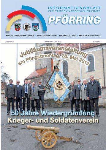 Informationsblatt-2012-05 - Markt Pförring
