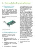 Guía de la Tarjeta Ethernet y Protocolo TCP-IP - Movistar - Page 4