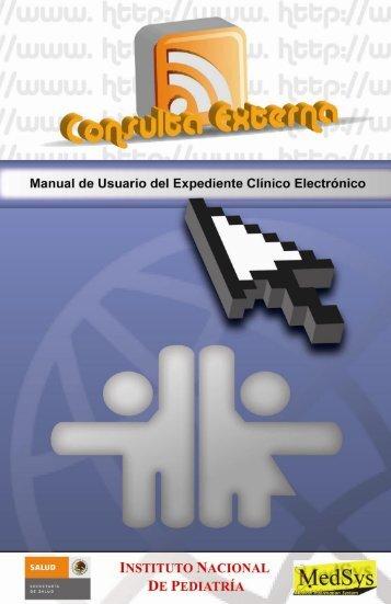 Manual de Usuario Expediente Clínico Electrónico Consulta Externa