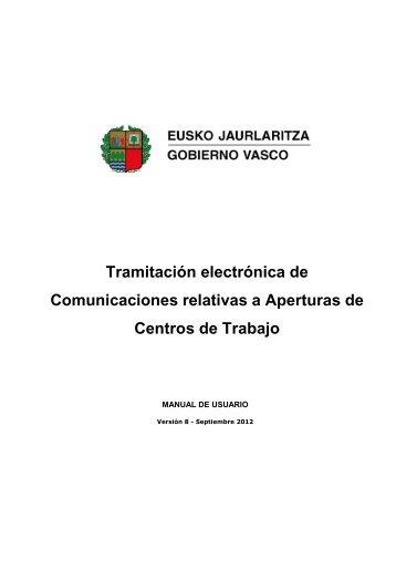 Manual de Usuario - Euskadi.net
