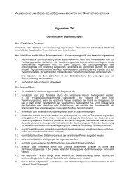 Bedingungen - adler & erber