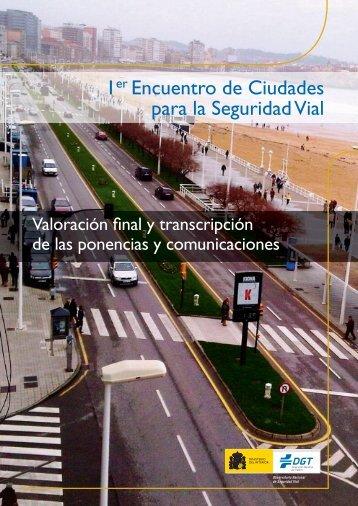 Encuentro de ciudades para la seguridad vial - Dirección General ...