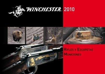 RIFLES Y ESCOPETAS MUNICIONES - Winchester International