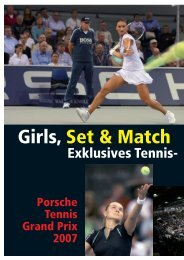Tennis Grand Prix 2007 - Porsche Club Deutschland