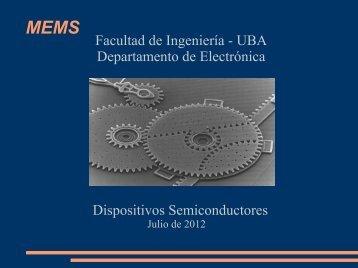 MEMS - Facultad de Ingeniería - UBA