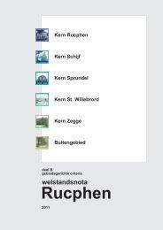 Welstandsnota, gebiedsgerichte criteria (PDF, 7 MB) - Gemeente ...