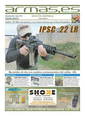 Recorridos de tiro con carabina semiautomática del ... - Armas.es