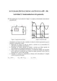 Actividad 2: Semiconductores de potencia.