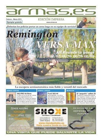 Remington VERSA MAX - Armas.es