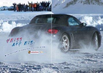 Winterfahrsicherheitstraining - Porsche Club Deutschland