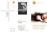 Imaging Summit 2011 - Photoindustrie-Verband eV