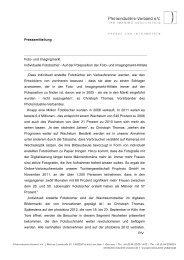 Page 1 Pressemitteilung Foto- und Imagingmarkt Individuelle ...